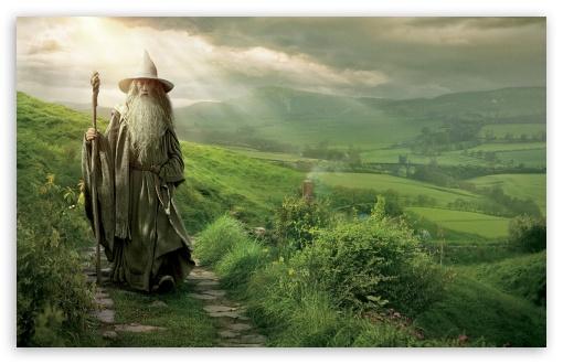 Download Gandalf The Grey UltraHD Wallpaper