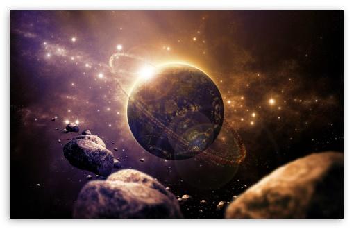 Download Sci fi Planet UltraHD Wallpaper