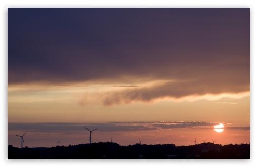 Download Sunset at Sandkulla UltraHD Wallpaper