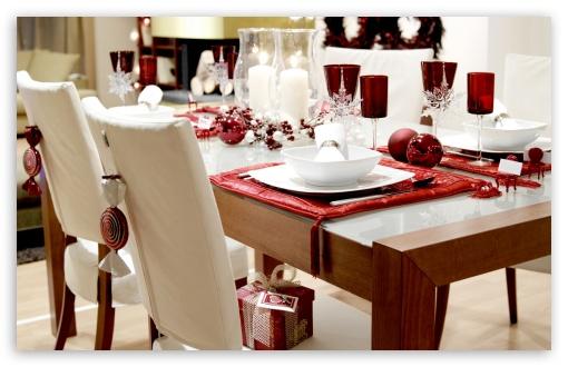 Download Dinner Table UltraHD Wallpaper