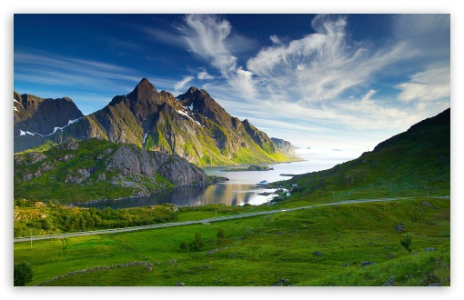Download Nordic Landscape UltraHD Wallpaper