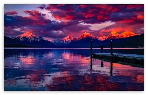 Download Lake McDonald, Montana UltraHD Wallpaper