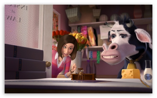 Download Cow Jeanette Chung Bee Movie UltraHD Wallpaper
