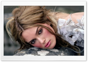 Keira Knightley Close-up