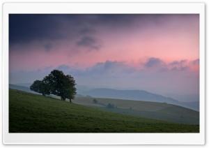 Hills At Twilight