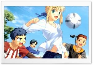 Anime Soccer Girl