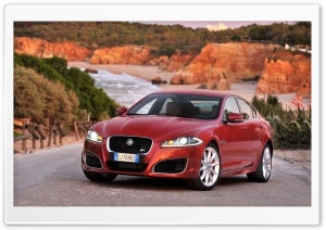 Jaguar XFR Red