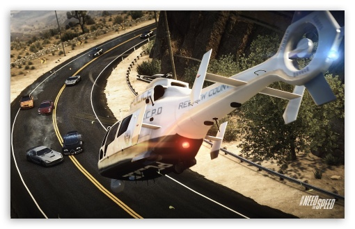 Download Need For Speed Rivals Helicopter Inbound UltraHD Wallpaper
