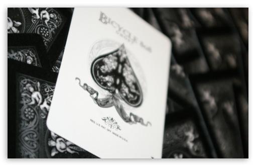 Download Black Card UltraHD Wallpaper