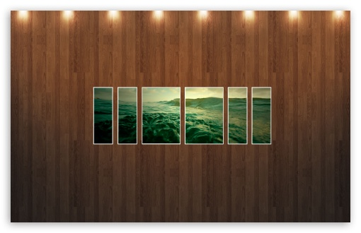 Download Water Picture   Wood Wall UltraHD Wallpaper