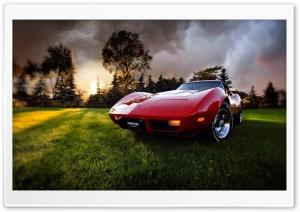 Old Chevrolet Corvette