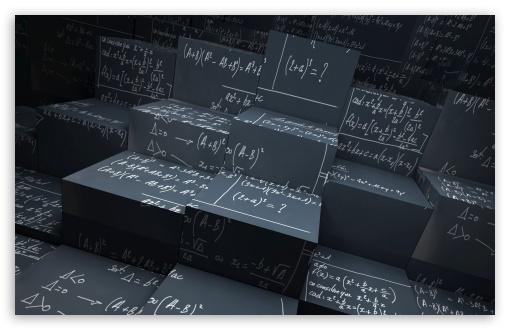 Download Math Equations UltraHD Wallpaper