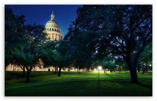 Download White House Night View UltraHD Wallpaper