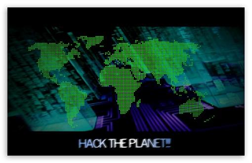 Download Hack the Planet UltraHD Wallpaper