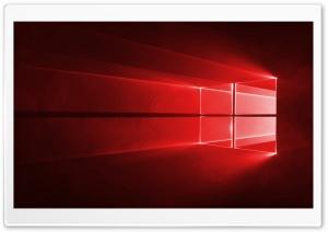 Windows 10 Red in 4K