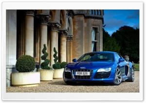 Audi R8 V10 Blue