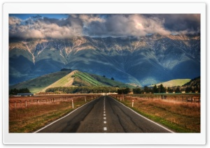 Road In New Zealand