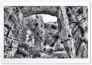 Castellcir Castle Ruins