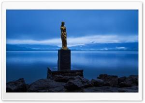 Statue of Tatsuko, Lake Tazawa