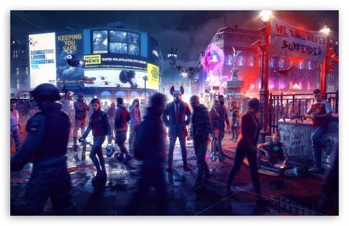 Download Watch Dogs Legion Game 2020 UltraHD Wallpaper