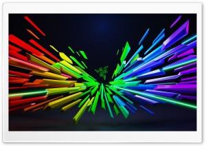 Razer Rainbow Colors Background