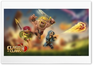 Clash of Clans Wall Paper