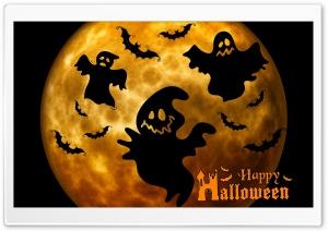 Halloween Ghosts Night Orange