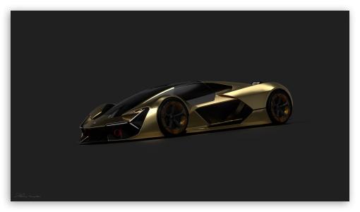 Download Lamborghini terzo millenio 4K Render by... UltraHD Wallpaper