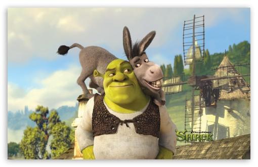 Download Shrek And Donkey, Shrek Forever After UltraHD Wallpaper