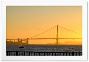 Sunset, Golden Gate Bridge