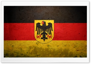 Grunge Flag Of Germany (State)