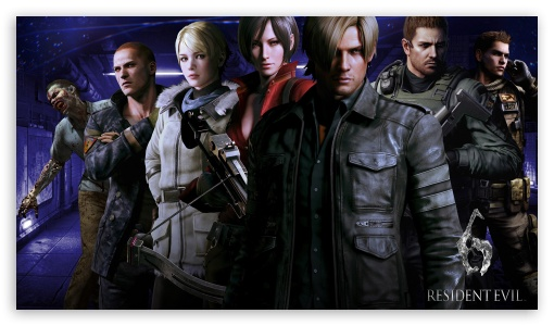 Download Resident Evil 6 Characters UltraHD Wallpaper