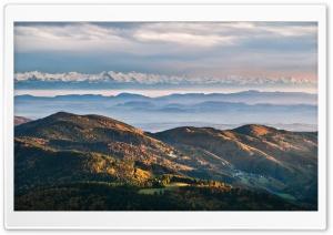 Mountain Ranges Autumn