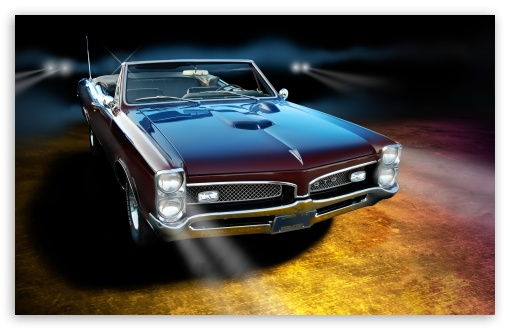 Download 1967 Pontiac GTO UltraHD Wallpaper