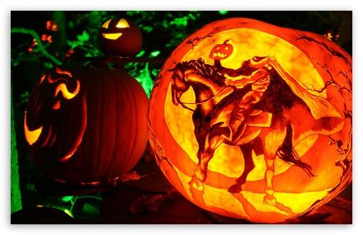 Download Headless Horseman Jack O Lantern UltraHD Wallpaper