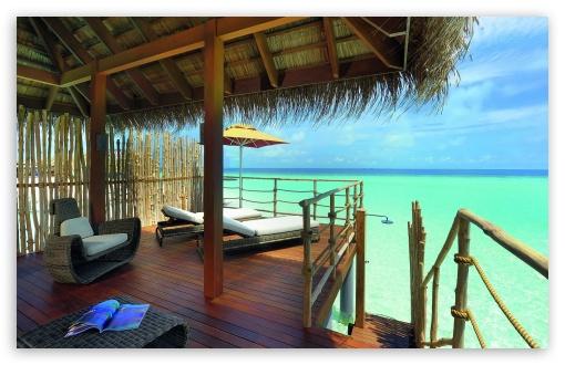 Download Tropical Vacation UltraHD Wallpaper