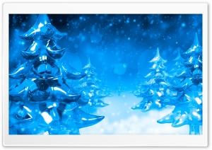 Ice Christmas Trees