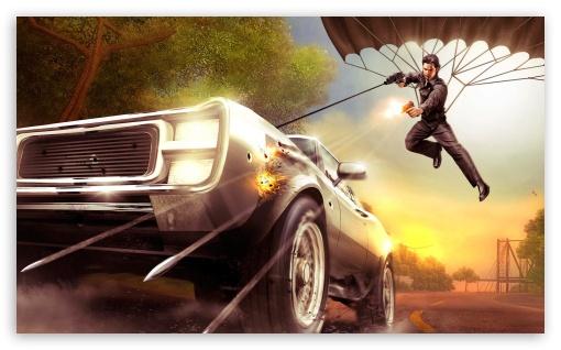 Download Racing Game 4 UltraHD Wallpaper