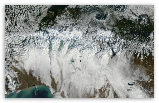 Download Southern Patagonia Seen from Space UltraHD Wallpaper