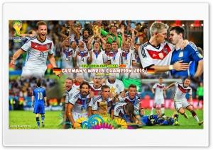 GERMANY WORLD CHAMPION 2014