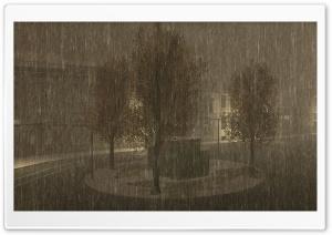 City Rain CGI