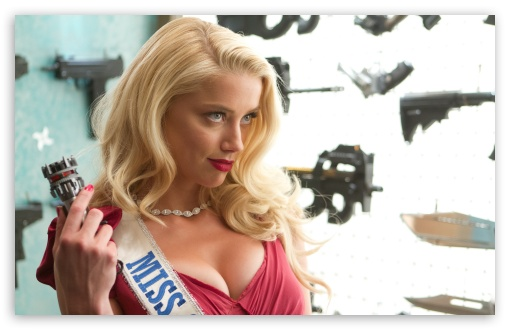 Download Machete Kills Amber Heard 2013 UltraHD Wallpaper