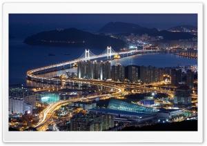 Gwangan Bridge, Busan, South...