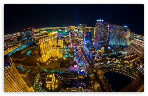 Download Las Vegas Aerial View UltraHD Wallpaper