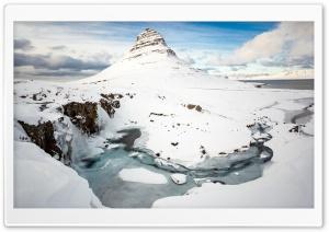 Kirkjufell Mountain,...