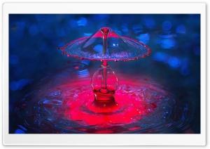 Water Drip, Drop, Splash Art