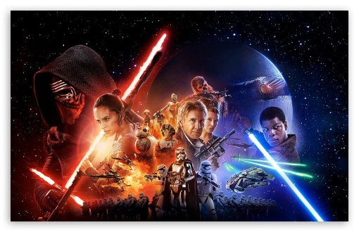 Download Star Wars - The Force Awakens UltraHD Wallpaper