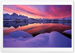 Lofoten, Arctic Norway,...