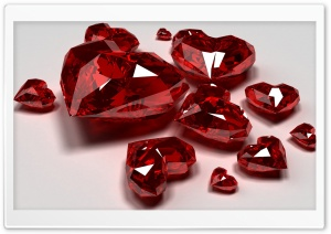 Red Diamond Hearts