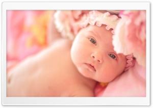 Cute Newborn Baby Girl - Sofia